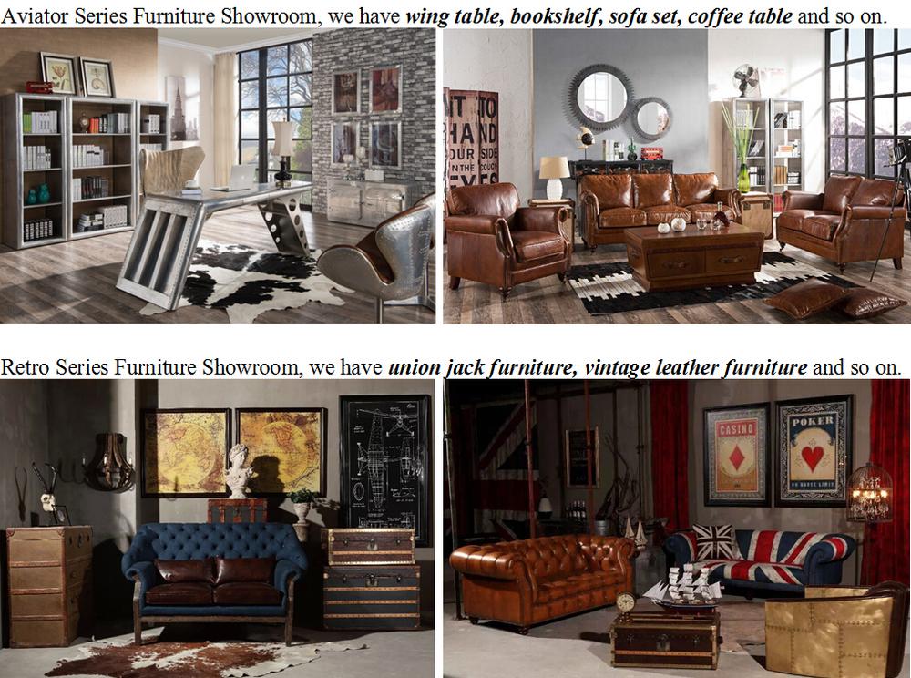 luxe vip verstelbare vintage leren bank voor de woonkamer ...