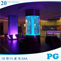 PG High Quality Plastic Acrylic Fish Tank Cylinder