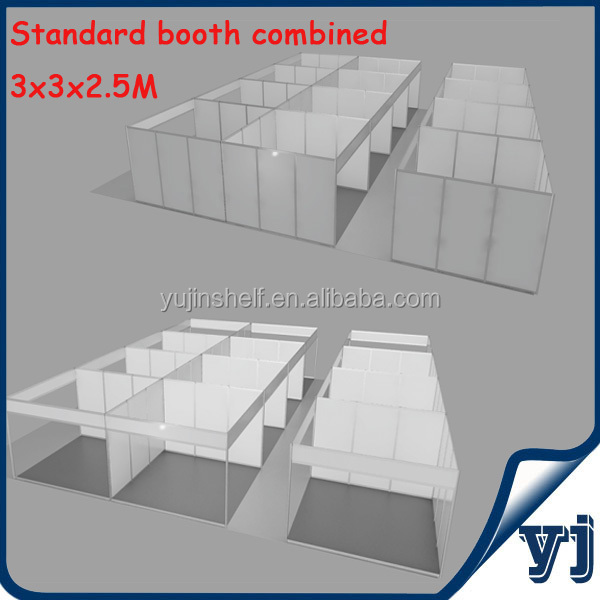 Aluminum modular trade show booth / exhibition booth/ booth display/ shell scheme booth