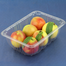 Disposable PET Plastic Fresh Fruit Punnet