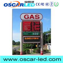 new products on market 12'' numerical gas/oil station price led board digital number 4 digit 7 segment display