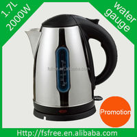 High Efficiency Mini Electric Travel Kettle 1.5L Transparent Water Gauge