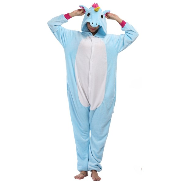 Uniway Unicorn Onesie Animal Kigurumi Pajamas Soft Flannel Kigurumi Onesie Wholesale