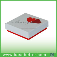 cardboard wedding paper gift box eco friendly packaging box