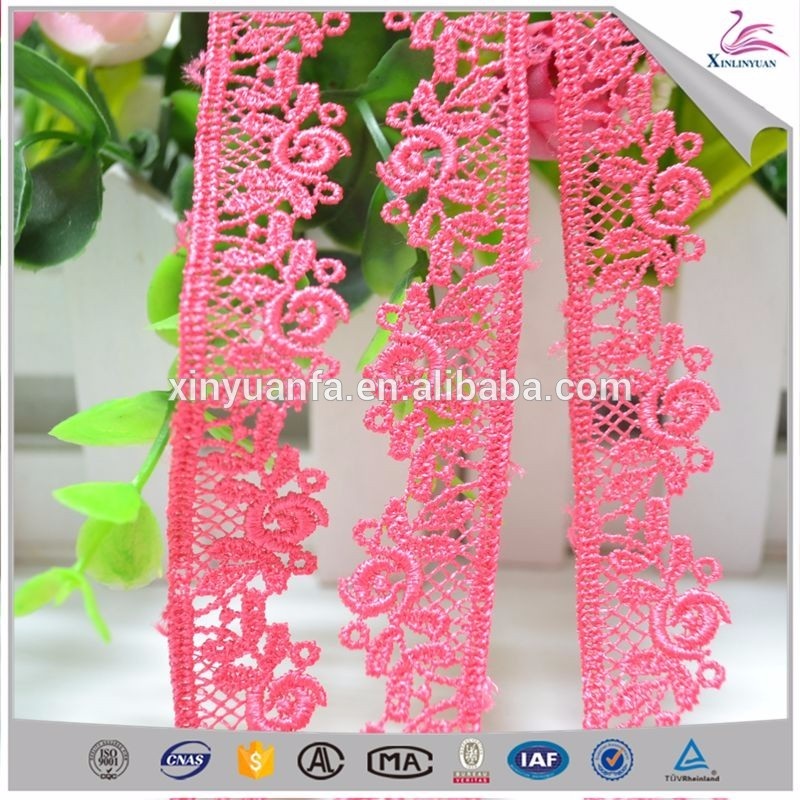 Customized mesh decorative ball lace trim