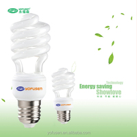 China factory T2 9W spiral outdoor fluorescent bulbs