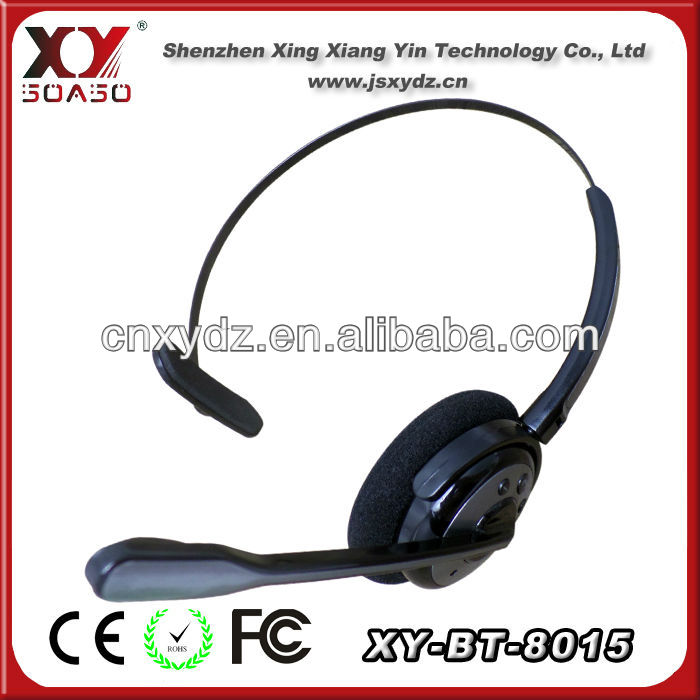 2013 Popular design stereo headphone call center with bluetooth