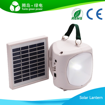 Special promotion:Yellow Solar lantern system 120lumen LED light with CE