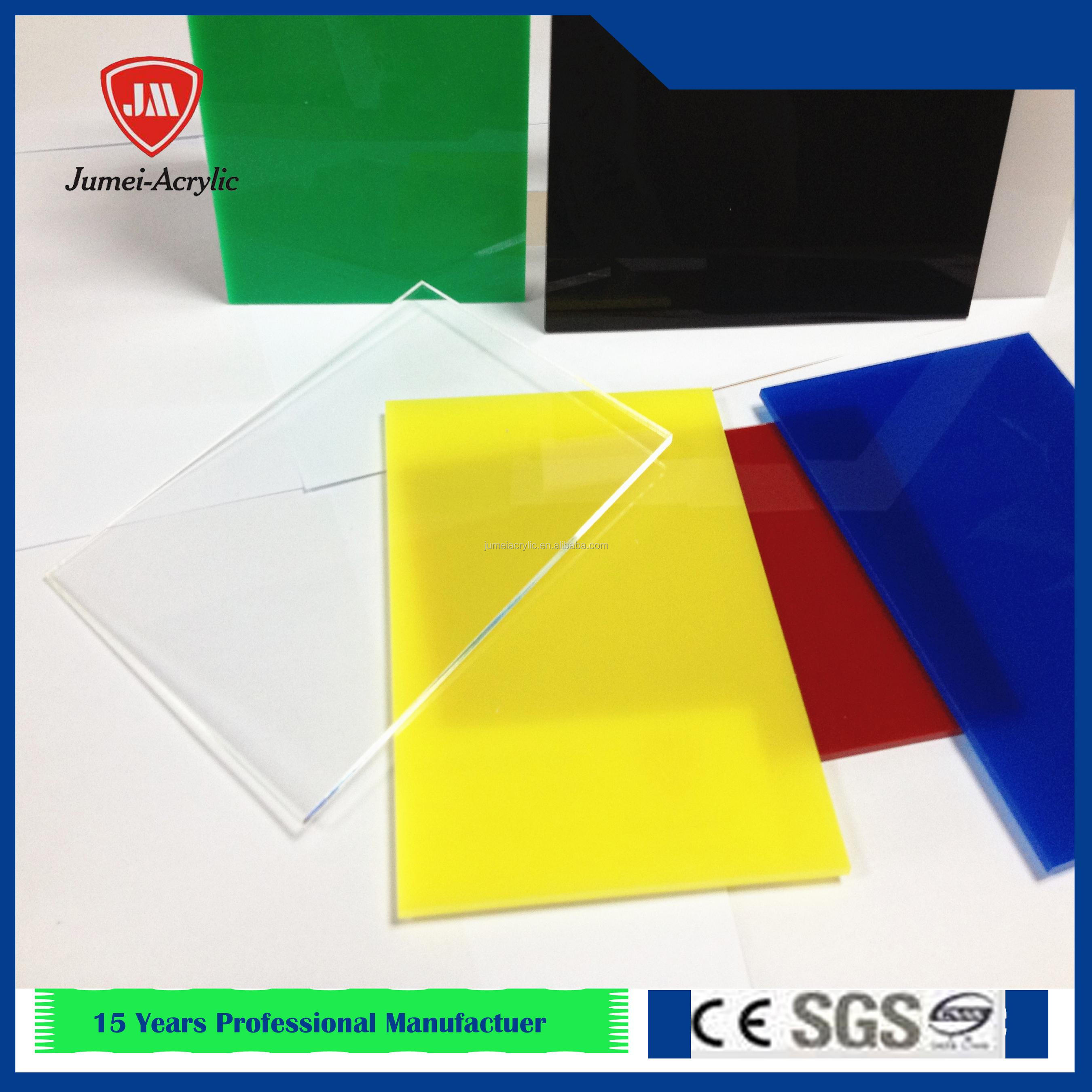 3mm acrylic board plexiglass sheet/color plexiglass perspex board