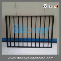 direct supllier folding portable solid aluminum swimming pool safety fence with lower price