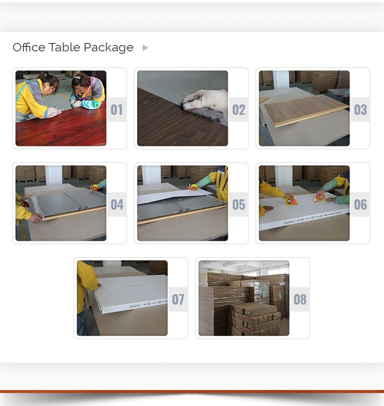 MDF office furniture executive office table designs
