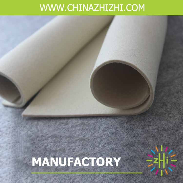 5mm thickness 100% polyester felt nonwoven felt with cheap price