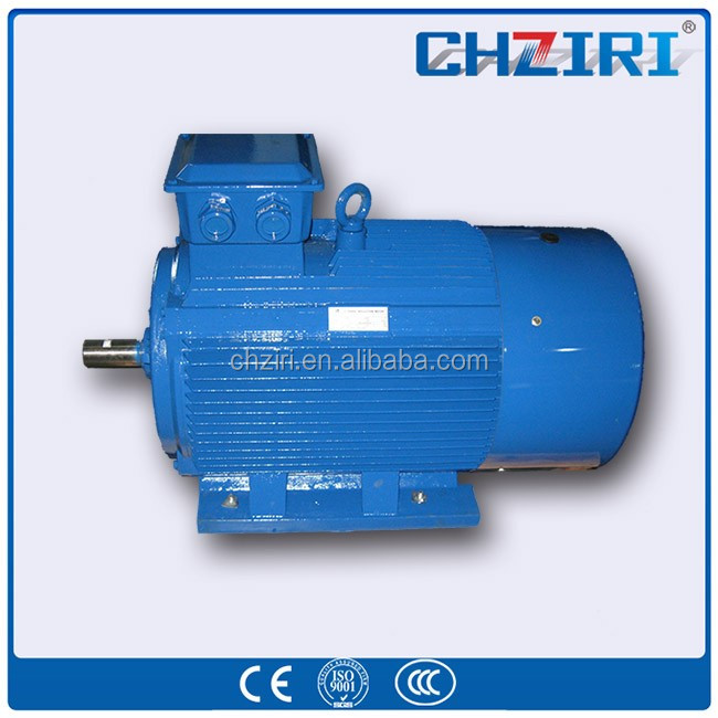 small variable speed electric motor 220 volts three phase