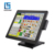 Fanless True flat 15inch J1900 touch windows POS system