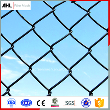Manufacture Low Price Automatic Sales PVC Coated Galvanized Used Chain-Link Fence Chain Link Fencing Panels