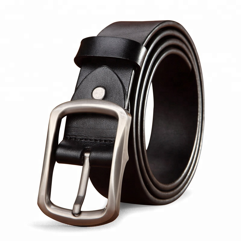 wholesale FEGER durable brass pin buckle adjustable fashion men leather <strong>belt</strong>