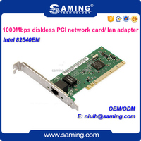 Support pxe bootrom Intel 82540em 8390mt gigabit RJ45 wired PCI network card/ lan adapter