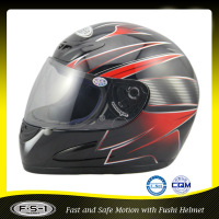 China supplier Man's helmet price for double visor German dot helmet motorcycle