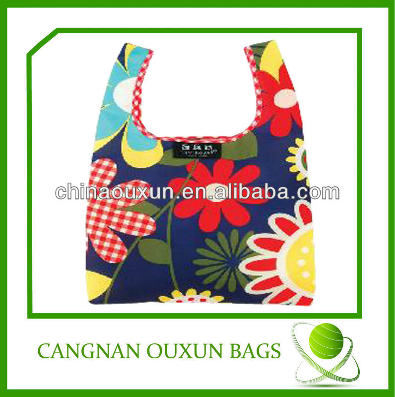 Cheap factory price foldable shopping bags nylon