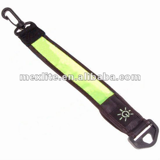 Clip On Marker Led Safety Light Ankle Arm Wrist Bicycle Hiking Running Band