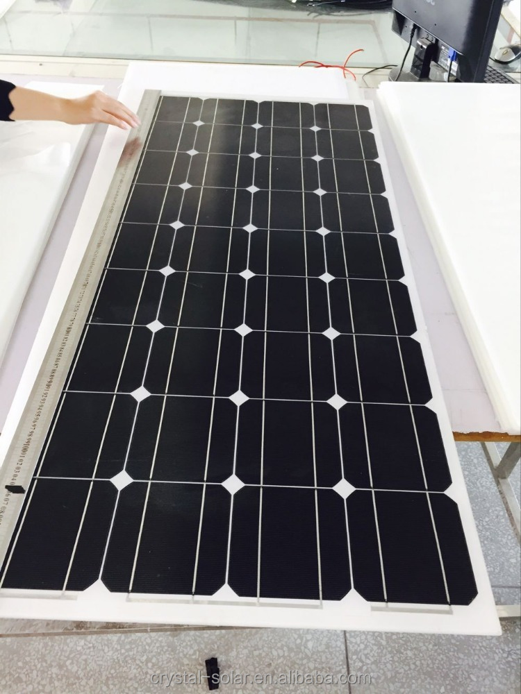 Flexible Solar Panel Best Quality Cheap Price A grade 100watt Mono Poly Solar Panel PV panel/module