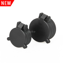 airsoft hunting accessories rifle gun red dot scope plastic flip up cap black scope cover for CL2-0108