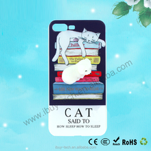 OEM Low MOQ 3D lovely animals Phone Cases for iphone 6 6s 7 plus 8 plus Squishy Kneading Cute seal Polar bear Cat
