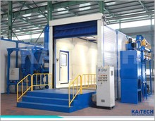 sand blasting room for surface cleaning good price