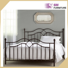 Metal bed high quality metal day bed cover double bed for sale