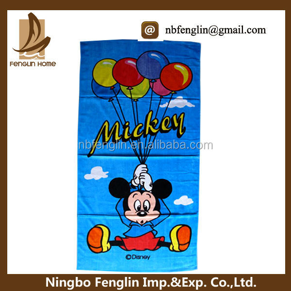 Top 10 Cartoon Mouse Printed Cotton Beach Towel