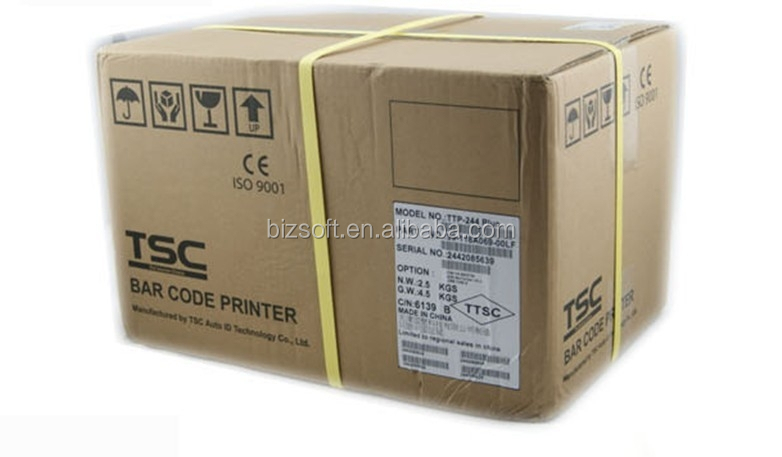 Bizsoft Taiwan TSC TTP-244 Pro desktop commercial barcode tag printer