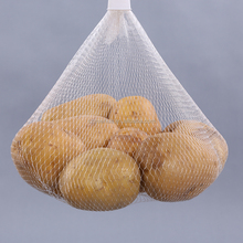 HDPE Plastic Type nylon drawstring small net mesh bags wholesale for agricultural industrial application