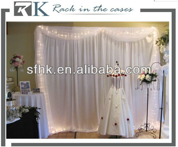 RK Pipe and drape for backdrop, events, wedding,booths,Free Drape
