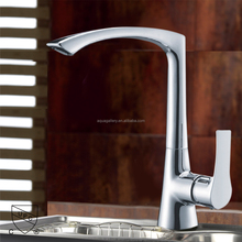 Solid Brass Single Handle Sink Mounted Flexible UPC Kitchen Water Tap