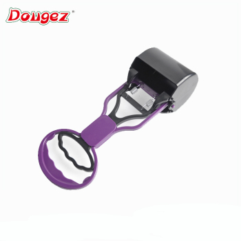 New Design portable  Plastic small size pet pooper scooper Waste Poop Shovels dog Clip Toilet