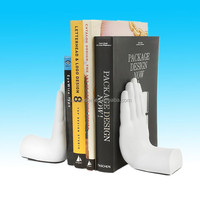 Desktop Madness Series Stop Hand Bookends