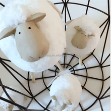 wholesale plush toy infant little lamb animal plush toy stuffed standing sheep doll toys
