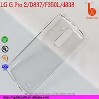 best selling phone case for lg g pro 2 , for LG D837 crystal back cover , for f350l waterproof case