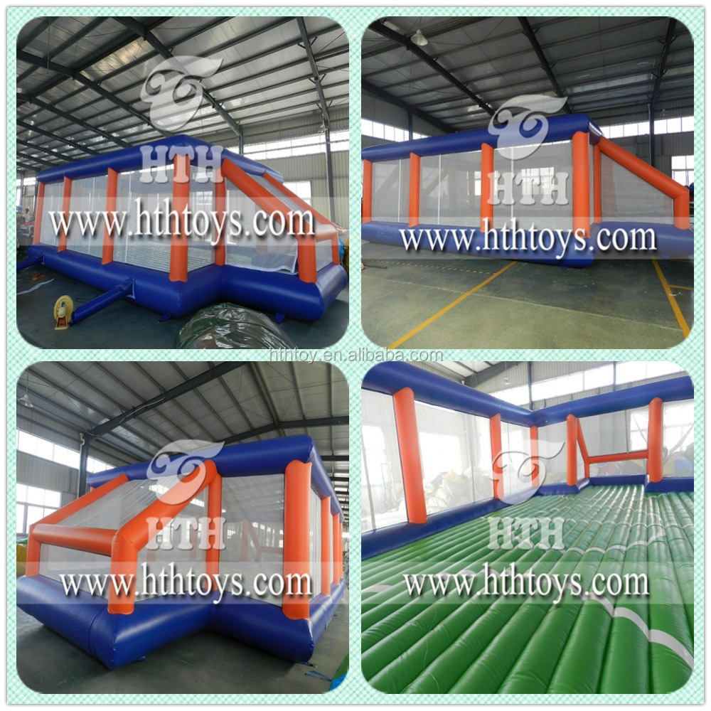 Attractive sports themed inflatable soccer field football pitch