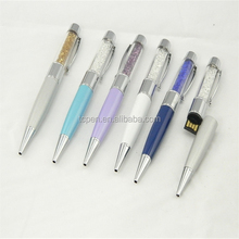 USB Pen with Crystal body, USB2.0, Singapore, USA, Malaysia, Europe