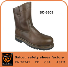 wholesale high ankle western cowboy safety lightweight boots SC-6608