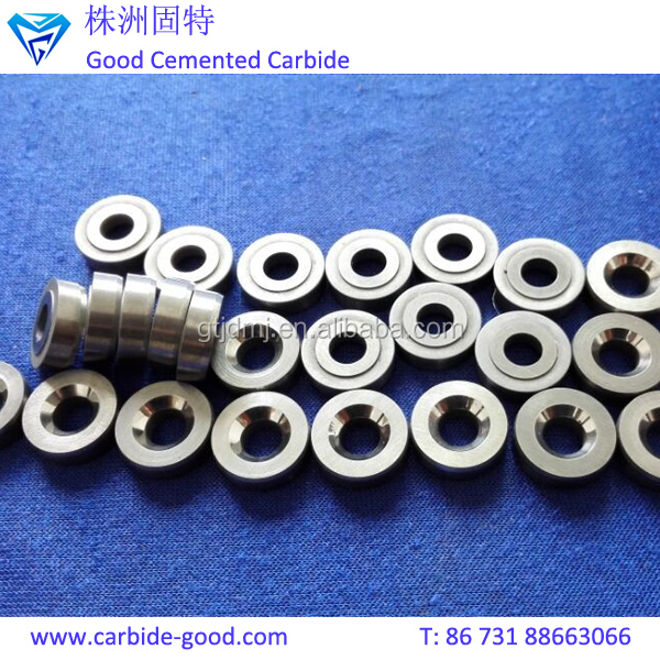 Grinding polished tungsten carbide valve seat tools for mud pump