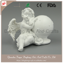 Resin Factory Decorative Manufacture Nativity Scenes With Two Angels