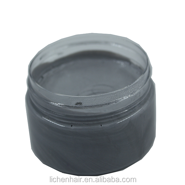 Guangzhou Lichen Wholesale Fashion Hair Color Wax Silver Color Hair Wax