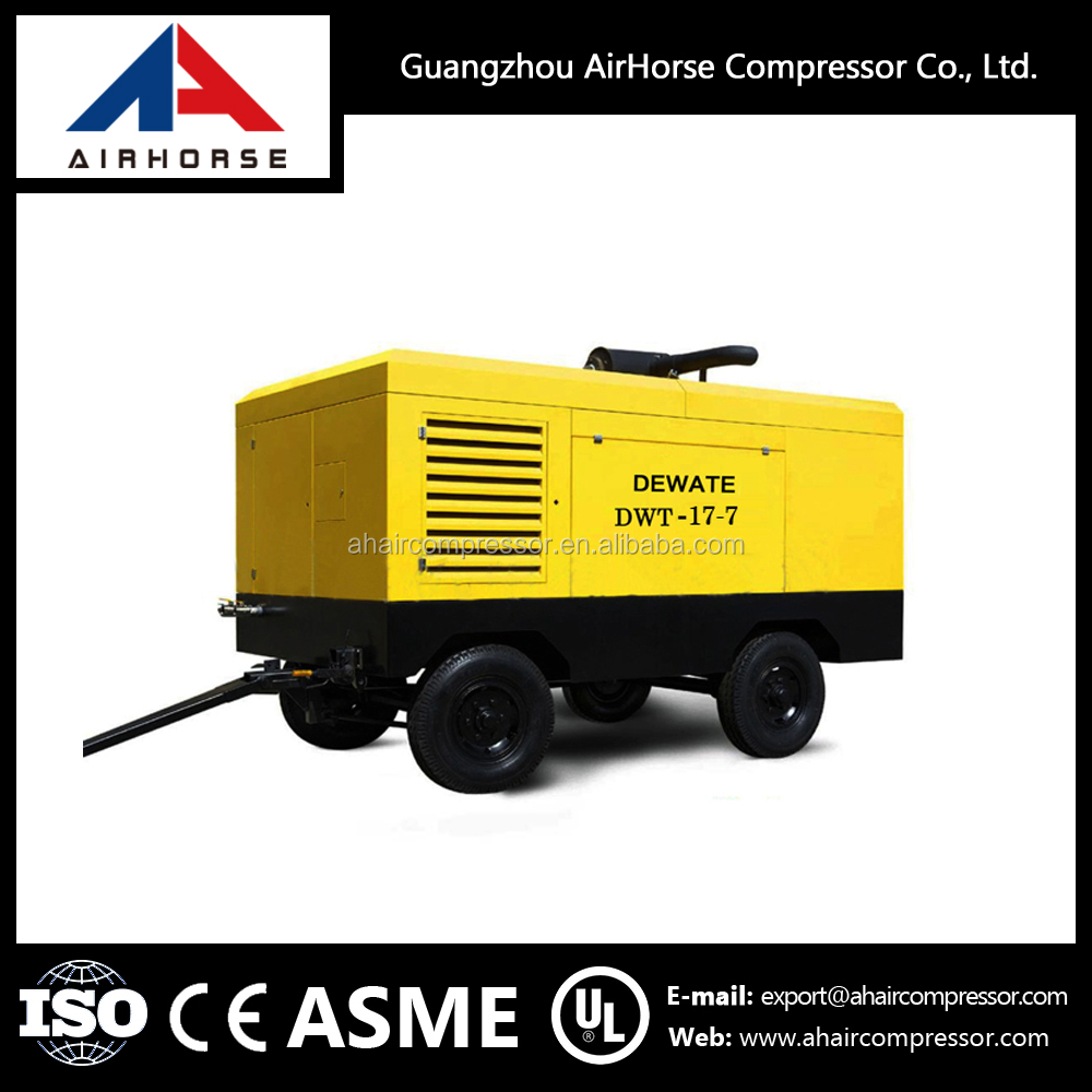 Bottom price 17m3/min Diesel Driven portable car air compressors