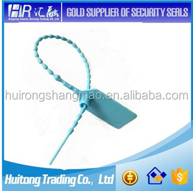 customized thin type plastic seal for tote boxes