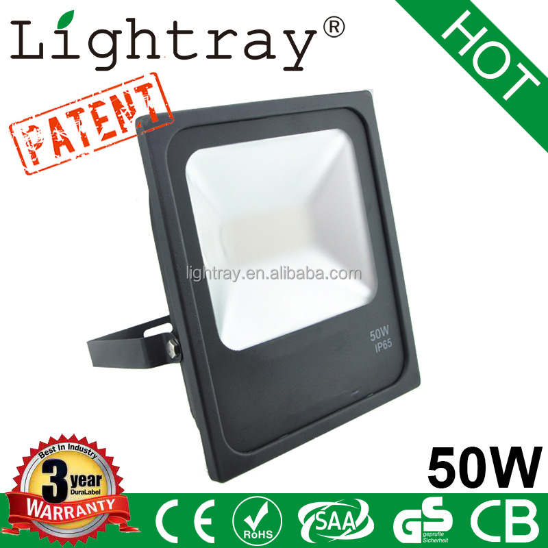 outdoor garden light 50w led flood light with EMC LVD 3 year warranty