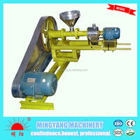 Easy operate 100kg per hour floating fish feed pellet machine used for fish farm
