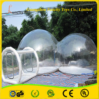 Commercial Outdoor Inflatable Transparent Bubble Tent, the Inflatable Clear Bubble Room, Price for Sale Bubble Show Tent