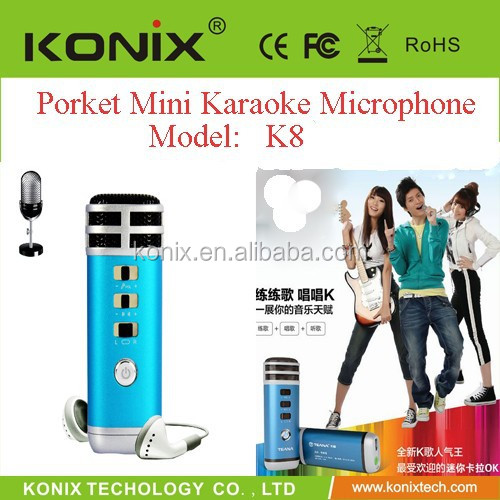 home karaoke system support smart phone MP3,MP4